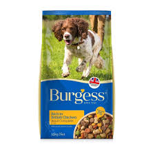 Burgess dog food
