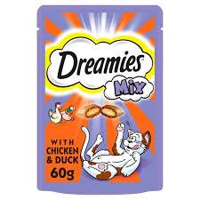 Dreamies mix chicken & duck