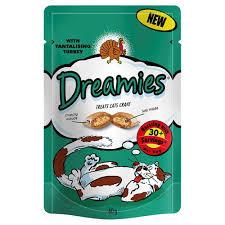 Dreamies Turkey cat treat