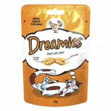 Dreamies chicken cat treats