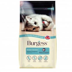 Burgess kitten food