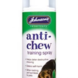 Anti chew dog spray
