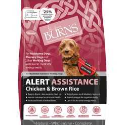 Burns dog food