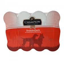 Champion dog food tins wet food