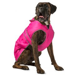 Dog coat pink